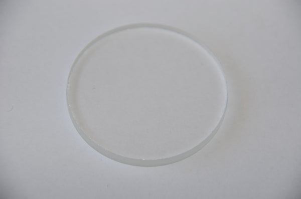 "Clear Lens for Rear Sight Port 2-1/4"" , Lens for Rear Sight Port, NWIM"
