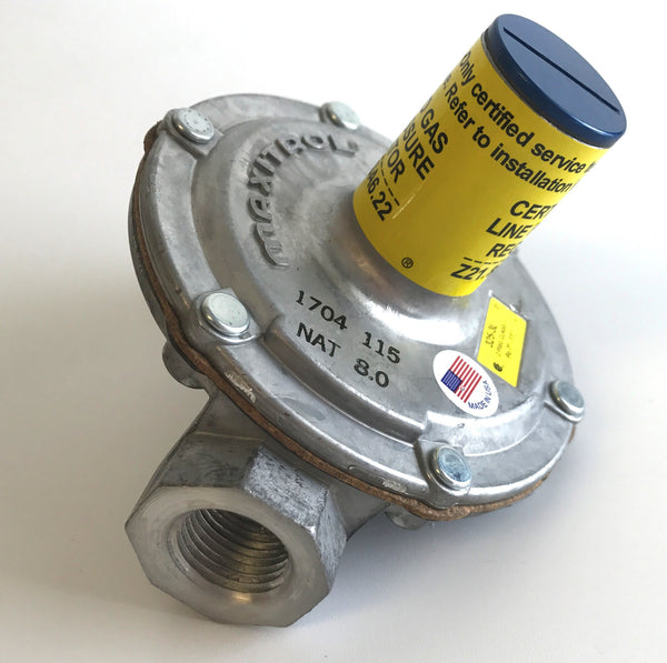 "1/2"" Gas Line Pressure Regulator 325-3L , Gas Line Pressure Regulator, NWIM"