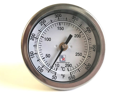 Bimetal Thermometer SS Model BR3 and BR5 , Thermometer, NWIM