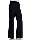 Cherokee Mid-Rise Knit Waist Pull-On Pant  Tall 1031T Black BLKB
