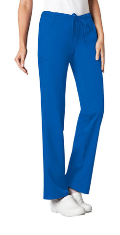 Cherokee Low Rise Straight Leg Drawstring Pant  Tall 1066T Royal ROYV