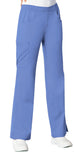 Cherokee Mid-Rise Pull-On Cargo Pant 1067 Ciel CELV