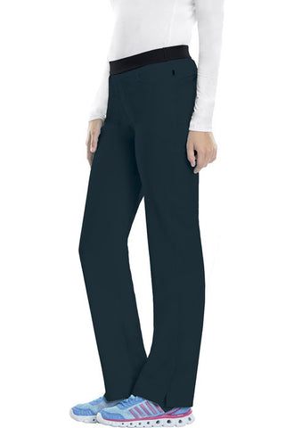 Cherokee Low Rise Slim Pull-On Pant  Tall 1124AT Caribbean Blue CAPS