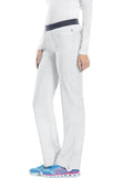 Cherokee Low Rise Slim Pull-On Pant 1124A White WTPS