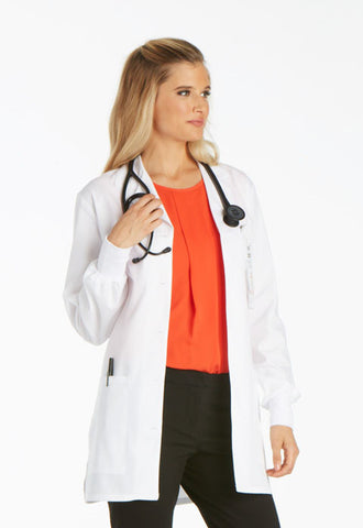 "Cherokee 32"" Lab Coat 1362A White WHTD"