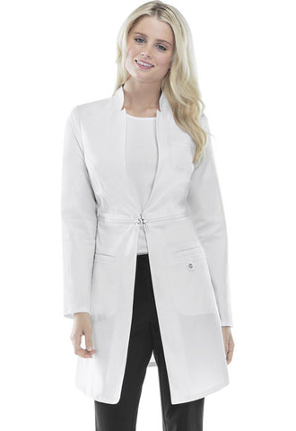 "Cherokee 32"" Lab Coat 1404 White WHTV"