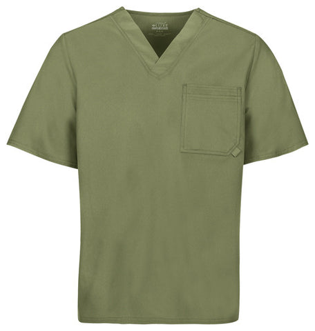 Cherokee Men's V-Neck Top 1929 Olive OLIV