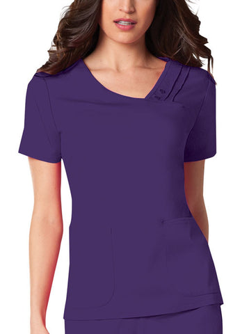 Cherokee Crossover V-Neck Pin-Tuck Top 1999 Nu-Grape GRPV