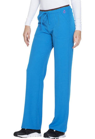 "HeartSoul ""Heart Breaker"" Low Rise Drawstring Pant  Petite 20110P Blue Crush BUUH"