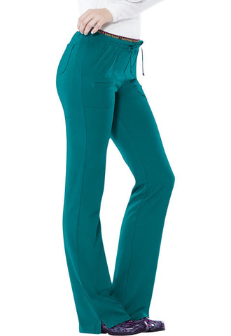 "HeartSoul ""Heart Breaker"" Low Rise Drawstring Pant  Tall 20110T Teal Blue TEAH"