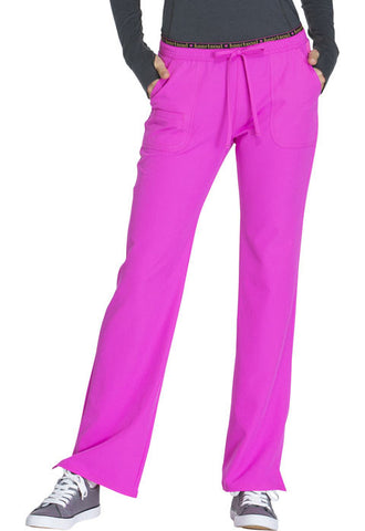 "HeartSoul ""Heart Breaker"" Low Rise Drawstring Pant 20110 Glam Fuschia GLFH"