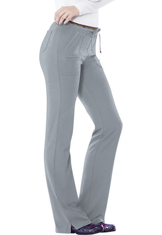 "HeartSoul ""Heart Breaker"" Low Rise Drawstring Pant 20110 Grey GRXH"