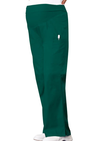 Cherokee Maternity Knit Waist Pull-On Pant 2092 Hunter Green HNTB