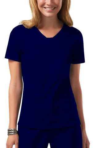 Cherokee Workwear V-Neck Top 24703 Navy NAVW