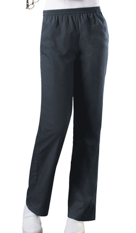 Cherokee Workwear Natural Rise Tapered Leg Pull-On Pant  Petite 4001P Pewter PWTW