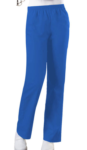 Cherokee Workwear Natural Rise Tapered Leg Pull-On Pant  Tall 4001T Royal ROYW