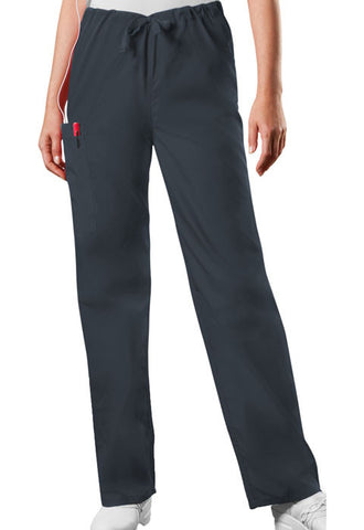 Cherokee Workwear Unisex Drawstring Cargo Pant  Tall 4100T Pewter PWTW