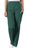 Cherokee Workwear Natural Rise Tapered LPull-On Cargo Pant 4200 Hunter HUNW