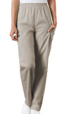 Cherokee Workwear Natural Rise Tapered LPull-On Cargo Pant 4200 Khaki KAKW