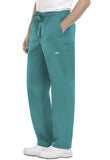 Cherokee Workwear Men's Drawstring Cargo Pant 4243 Teal Blue TLBW