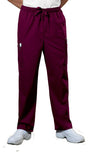 Cherokee Workwear Men's Drawstring Cargo Pant 4243 Wine WINW
