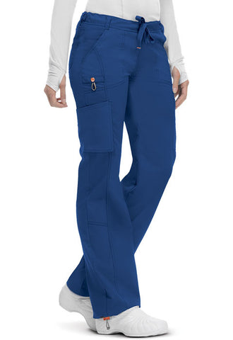 Code Happy Low Rise Straight Leg Drawstring Pant 46000A Royal RYCH