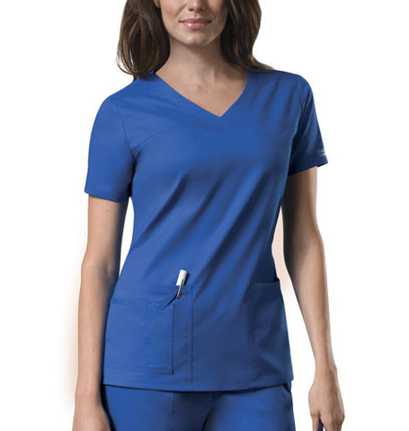 Cherokee Workwear V-Neck Top 4727 Royal ROYW