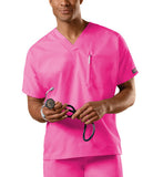 Cherokee Workwear Unisex V-Neck Tunic 4777 Shocking Pink SHPW