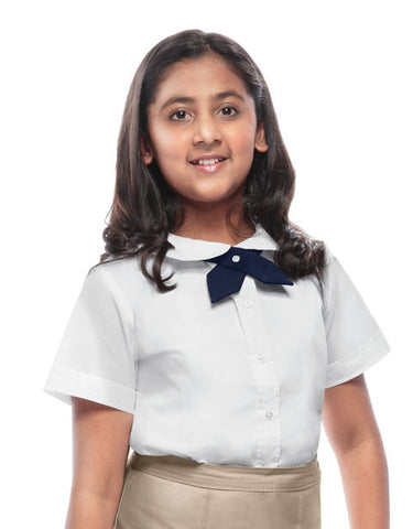 Classroom Uniforms Girls S/S Peter Pan Blouse 57322 White WHT