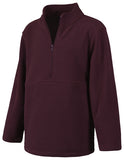 Classroom Uniforms Youth Unisex Polar Fleece Pullover 59302 Burgundy BUR