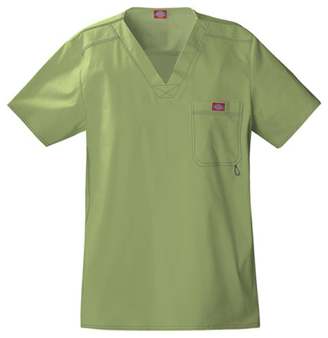 Dickies Men's V-Neck Top 81722 Desert Sage DSGZ
