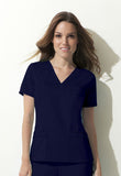 Dickies V-Neck Top 817455 Galaxy Blue GBLZ