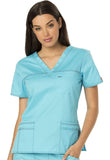 Dickies V-Neck Top 817455 Icy Turquoise ITQZ