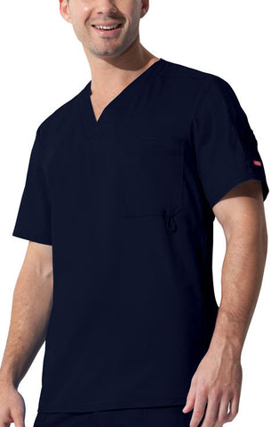 "Dickies ""Youtility"" Men's V-Neck Top 81822 D-Navy NVYZ"
