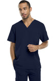 Dickies Men's V-Neck Top 81910 D-Navy NVYZ