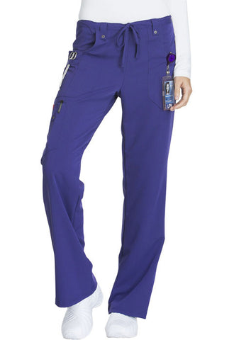 Dickies Mid Rise Drawstring Cargo Pant  Tall 82011T Grape GPWZ