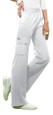 Dickies Mid Rise Pull-On Cargo Pant 82012 White DWHZ