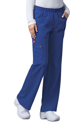 Dickies Mid Rise Pull-On Cargo Pant 82012 Galaxy Blue GBLZ