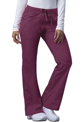 Dickies Low Rise Straight Leg Drawstring Pant 82212A Wine WIWZ