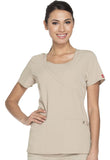 Dickies Mock Wrap Top 82814 Dark Khaki KHIZ