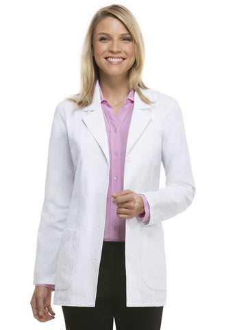 "Dickies 29"" Lab Coat 84405 White DWHZ"