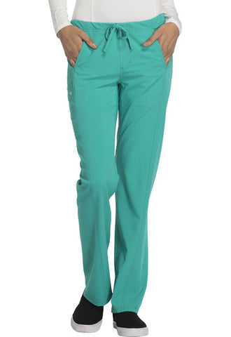 Careisma Low Rise Straight Leg Drawstring Pant  Petite CA100P Emerald Green EMRG