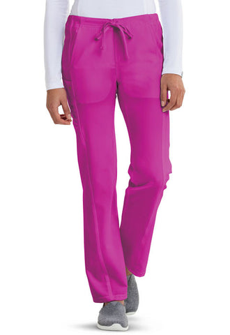 Careisma Low Rise Straight Leg Drawstring Pant  Petite CA100P Hot Magenta HMG