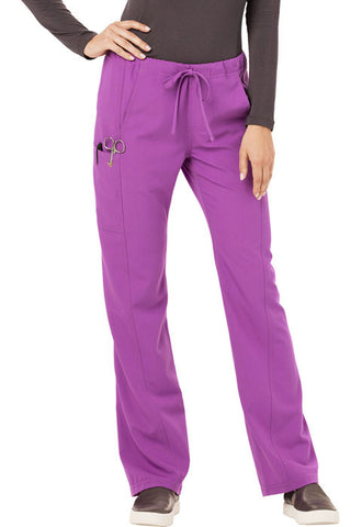 Careisma Low Rise Straight Leg Drawstring Pant  Petite CA100P Purple Orchid PUO