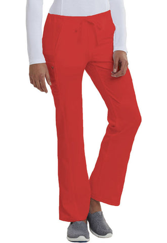 Careisma Low Rise Straight Leg Drawstring Pant  Petite CA100P Red RED