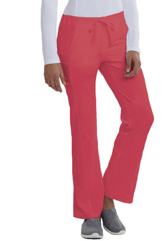 Careisma Low Rise Straight Leg Drawstring Pant CA100 Icy Coral ICCC