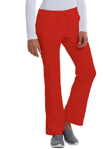 Careisma Low Rise Straight Leg Drawstring Pant CA100 Red RED
