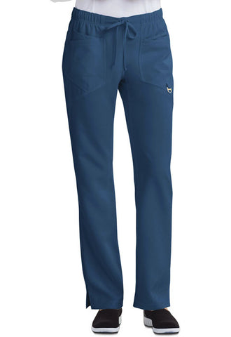 Careisma Low Rise Straight Leg Drawstring Pant  Petite CA105AP Caribbean Blue CAR