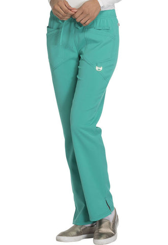 Careisma Low Rise Straight Leg Drawstring Pant  Petite CA105AP Emerald Green EMRG