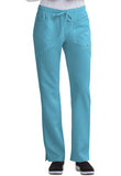 Careisma Low Rise Straight Leg Drawstring Pant CA105A Aqua Rush ARH